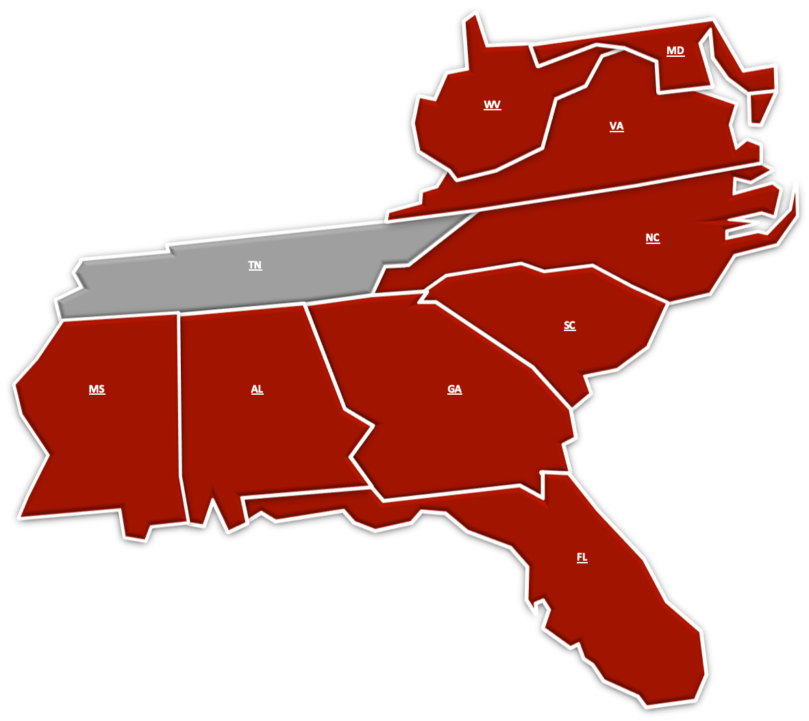 Locate your IS/M Rep, by clicking on your State.